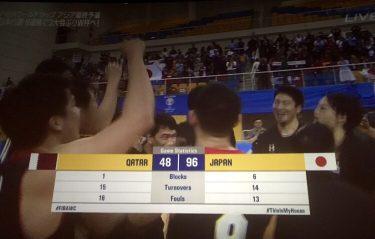 【ドーハの歓喜】バスケ日本代表、21年ぶりW杯出場決定!!